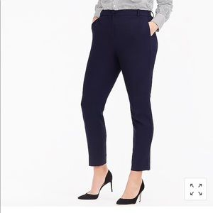 Jcrew high rise Cameron pants in size 2 in navy